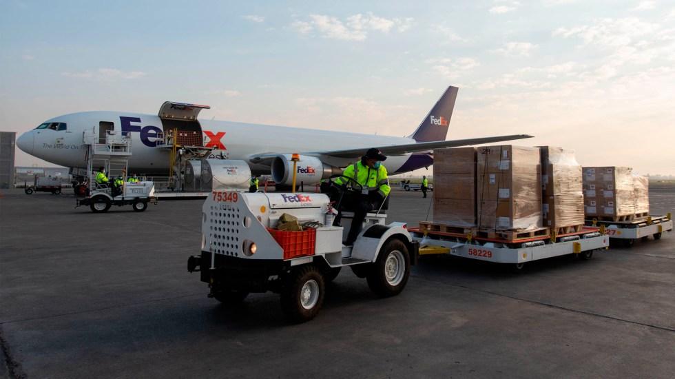 Arriba a México segundo vuelo con ventiladores de Estados Unidos - segundo vuelo ventiladores coronavirus COVID-19