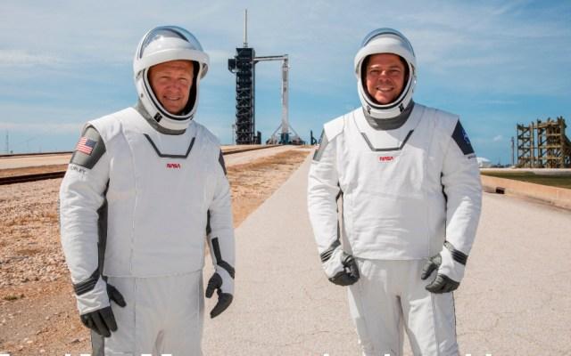 El nuevo diseño de los trajes espaciales de los astronautas a bordo del SpaceX - Foto de EFE
