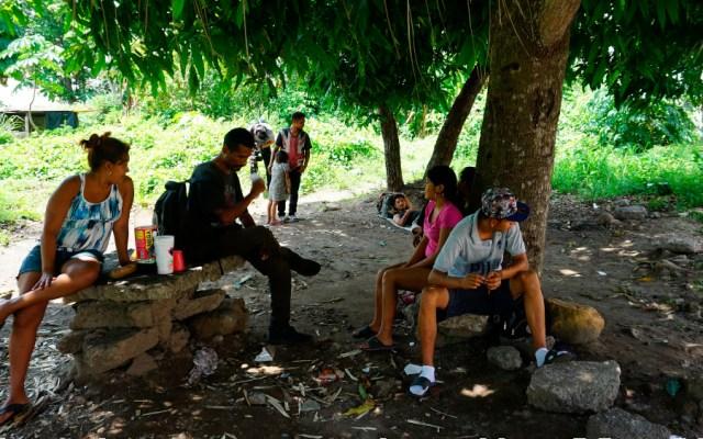 Migrantes a la deriva y expuestos a la pandemia en Chiapas - Foto de EFE