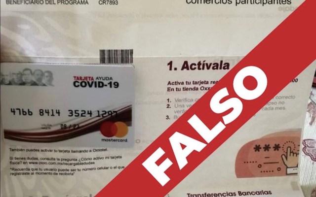 UIF congela cuenta de persona que pedía dinero a cambio de falsos apoyos por COVID-19 - Foto de Secretaría de Bienestar