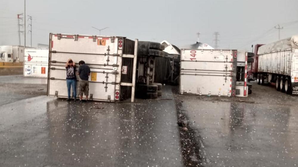 Confirman un tercer muerto por tormenta en Nuevo León - Foto de Notimex