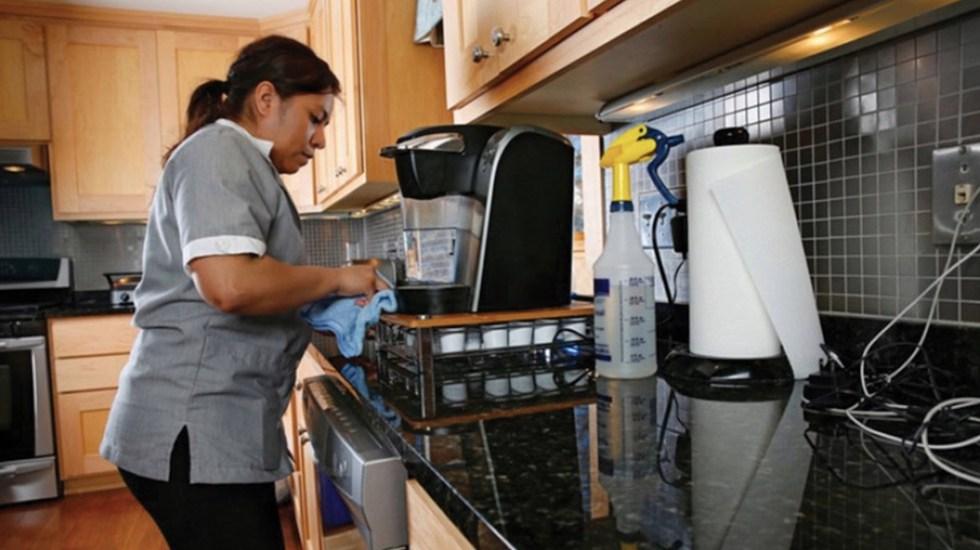 Más de 33 mil trabajadoras del hogar se han afiliado al IMSS - Más de 33 mil trabajadoras del hogar se han afiliado al IMSS. Foto de Conapred
