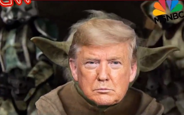 #Video Trump encarna al maestro Yoda en nuevo video de campaña - Trump Yoda video campaña Estados Unidos