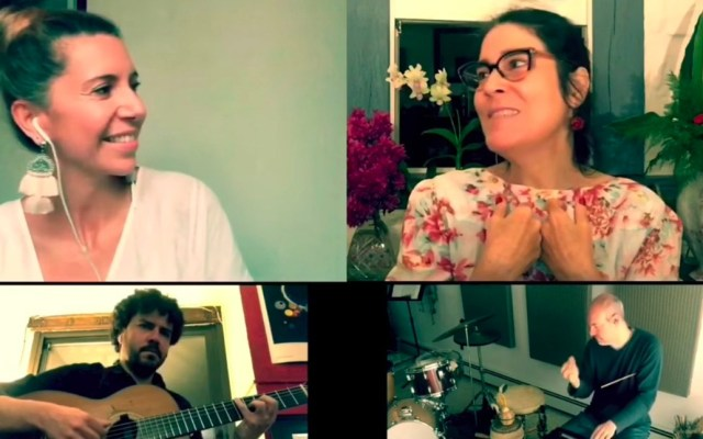 #Video Magos Herrera con Mónica Salmaso - Foto de Facebook.