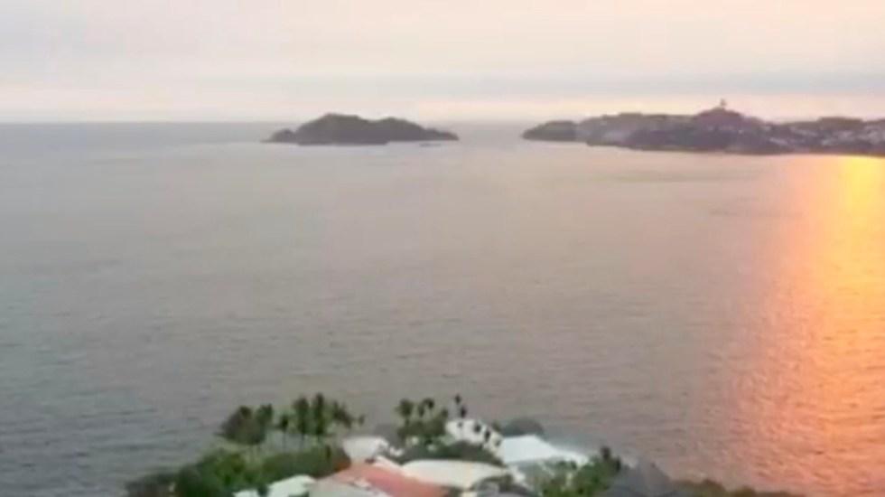 #Video Acapulco hoy, ni un alma en la bahía