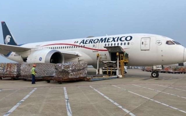 Pasajeros no deben tener miedo a volar; Aeroméxico cumple con estándares sanitarios, señala Andrés Conesa - Foto de @m_ebrard