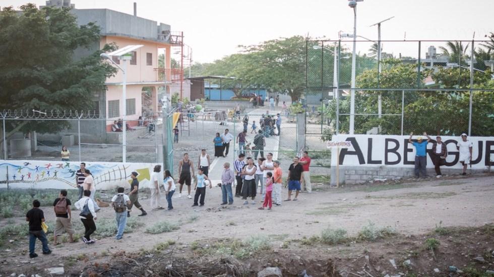 Alertan por posible brote de COVID-19 en albergue de migrantes en Oaxaca - Foto de Albergue Hermanos en el Camino