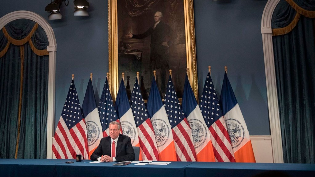 Alcalde de Nueva York aplaude derogación de ley que daba inmunidad a la Policía - alcalde de Nueva York, Bill de Blasio