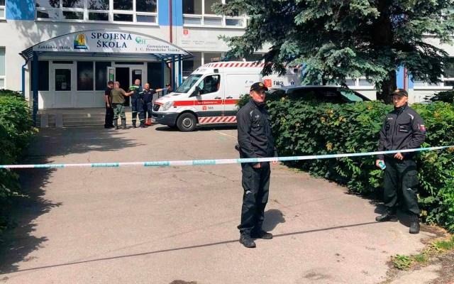 Ataque con cuchillo en escuela de Eslovaquia deja un muerto y cinco heridos - ataque cuchillo Eslovaquia