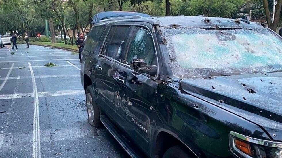 García Harfuch atribuye atentado al Cártel Jalisco Nueva Generación - atentado García Harfuch cdmx