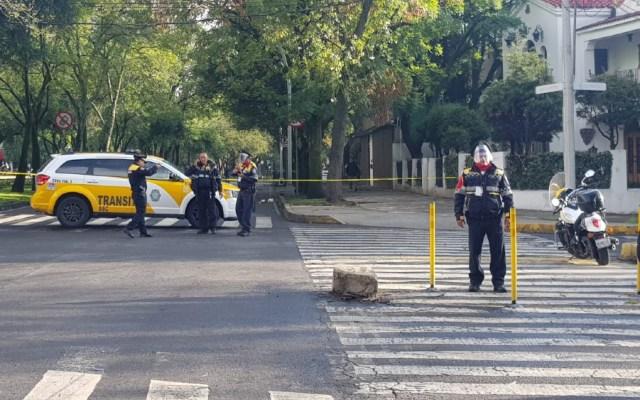 """""""Ataque cobarde"""" atentado contra García Harfuch: Alfonso Durazo - atentado Garcia Harfuch Paseo de la Reforma"""