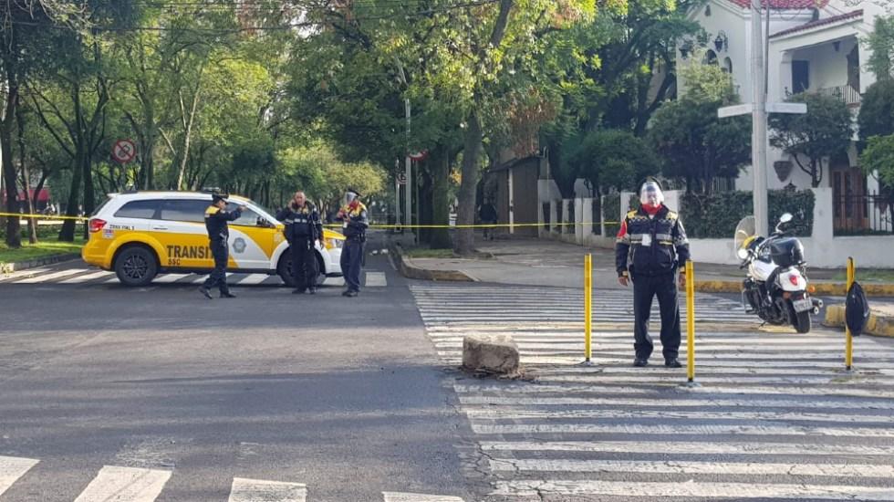 Murió mujer en fuego cruzado durante atentado contra García Harfuch - atentado Garcia Harfuch Paseo de la Reforma