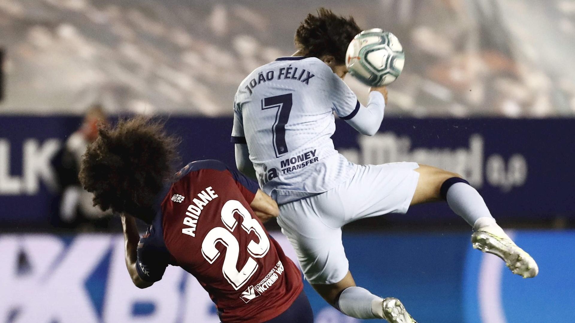 Atlético de Madrid Joao Felix partido Osasuna 17062020 2