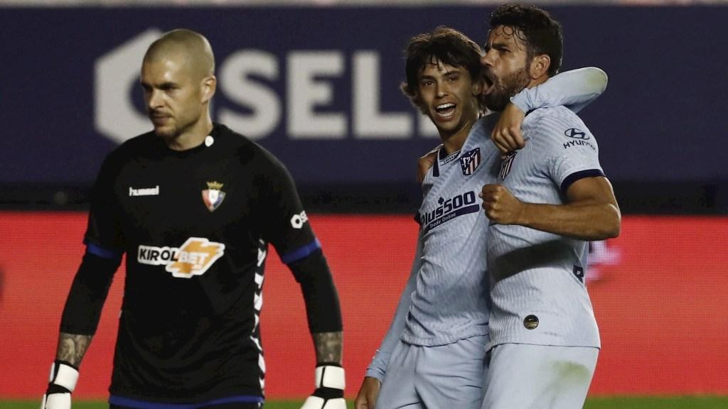 Atlético de Madrid golea 5-0 al Osasuna en la jornada 29 - Atlético de Madrid Joao Felix partido Osasuna 17062020