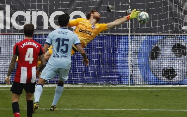 Atlético de Madrid, fuera de zona de Champions tras empatar con Bilbao - Atlético de Madrid partido Athletic de Bilbao 14062020