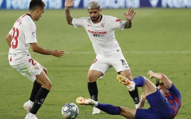 Barcelona empata a cero con Sevilla y pone en riesgo liderato - Barcelona Sevilla partido futbol LaLiga 19062020 1
