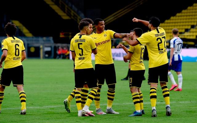 Borussia Dortmund gana por la mínima diferencia a Hertha Berlín - Borussia Dortmund hertha