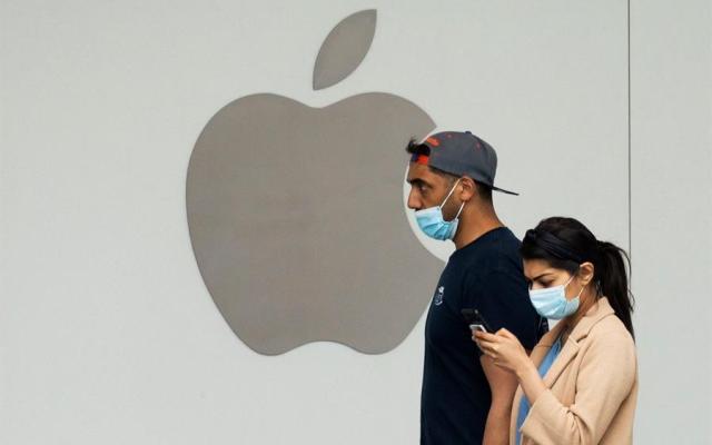 Apple vuelve a cerrar 30 tiendas en EE.UU. por el repunte de COVID-19 - Foto de EFE.