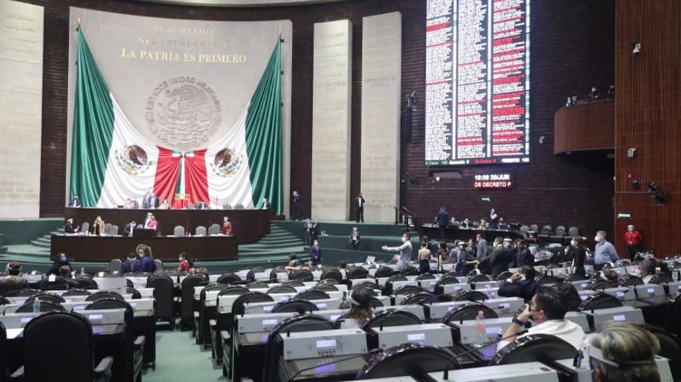 Diputados aprueban leyes armonizadoras del T-MEC; levantan periodo extraordinario - Foto de @Mx_Diputados