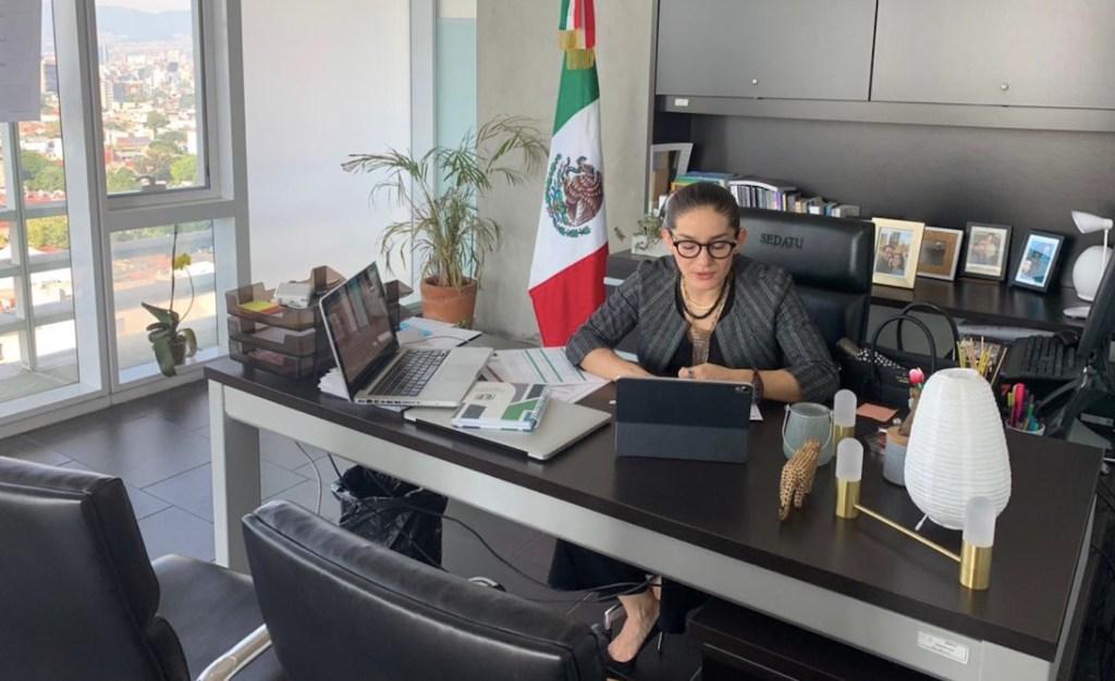 Carina Arvizu, subsecretaria de Sedatu, da positivo a COVID-19 - Foto de Twitter Carina Arvizu
