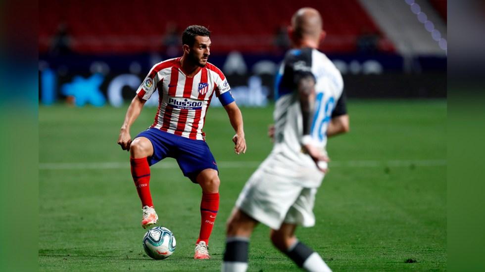Atlético de Madrid se enfrentará al Barcelona sin Koke ni Savic - Centrocampista del Atlético de Madrid, Koke Resurrección