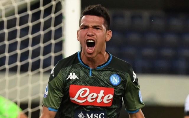 #Video 'Chucky' Lozano sentencia el triunfo del Napoli en Verona - Foto de SSC Napoli