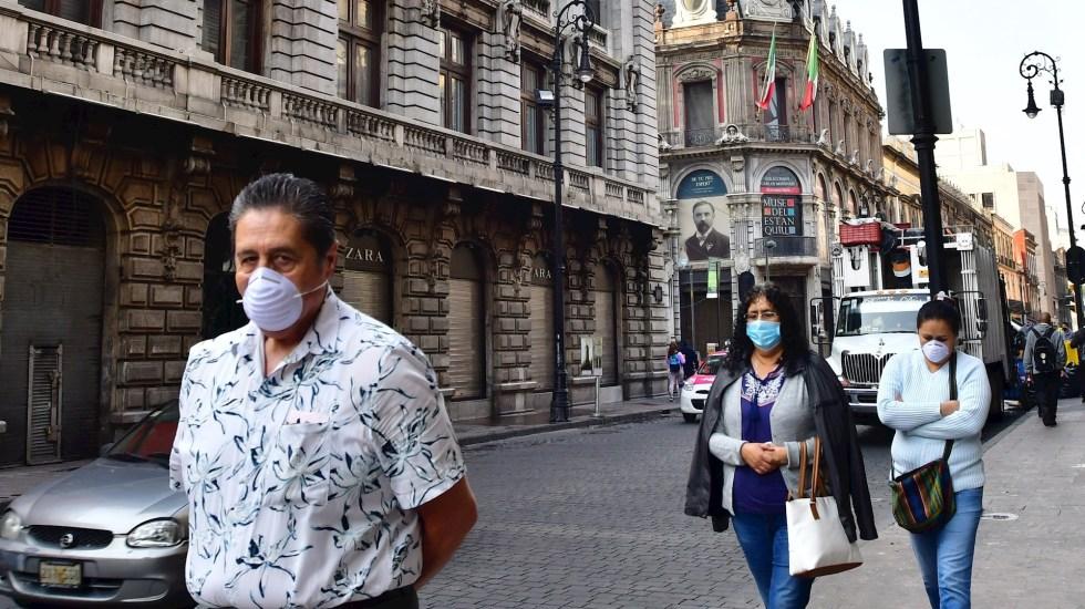 """No somos enemigos del cubrebocas"", expresa López-Gatell - Ciudad de México coronavirus COVID-19 pandemia epidemia"