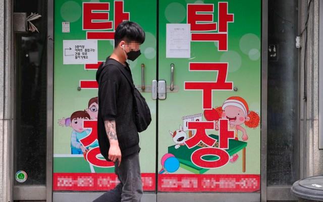 Corea del Sur registra mayor número de contagios de COVID-19 en ocho días - Corea del Sur coronavirus COVID-19