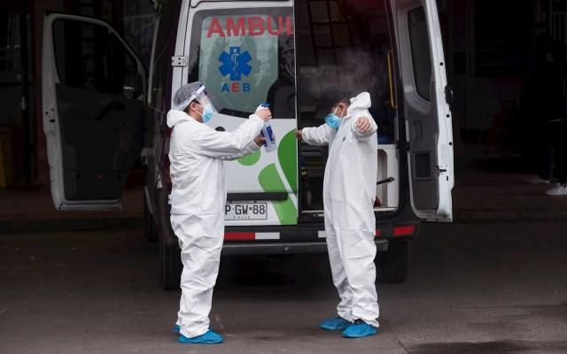 OMS advierte por más muertes por COVID-19 en el continente americano - COVID-19 coronavirus Chile Santiago médicos ambulancia