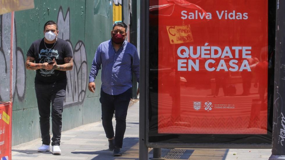 En las últimas 24 horas, México registró 6 mil 604 nuevos casos de COVID-19 y 418 muertes - COVID-19 coronavirus México Ciudad