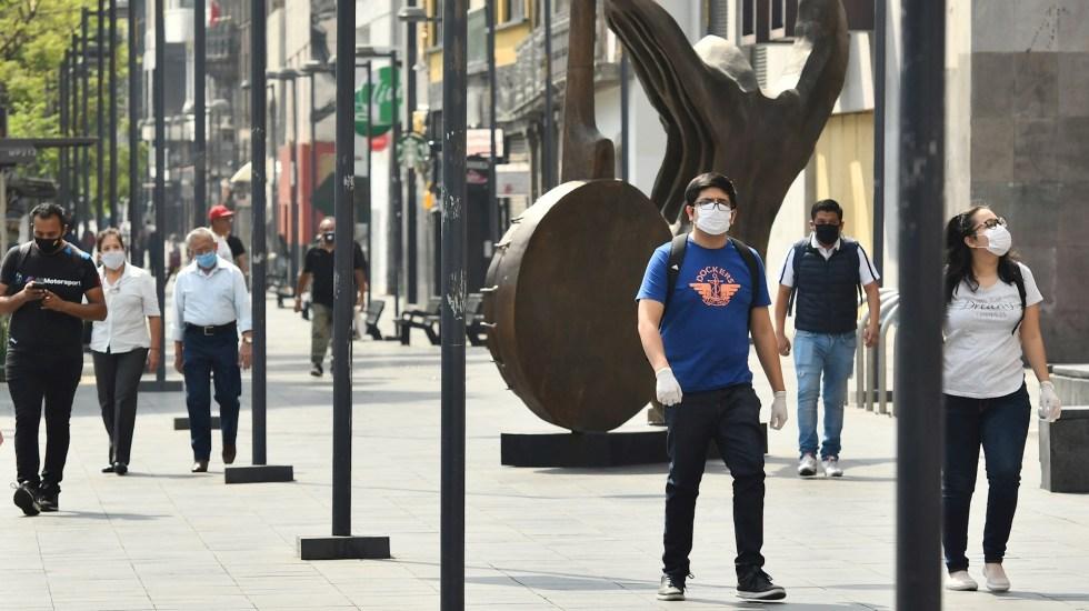 Alerta López-Gatell sobre repunte de casos de COVID-19 en temporada invernal - COVID-19 coronavirus México pandemia epidemia