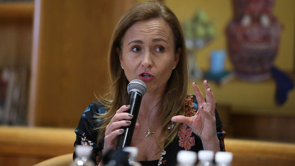 Valeria Moy, nueva directora del IMCO - Valeria Moy. Foto de El Economista