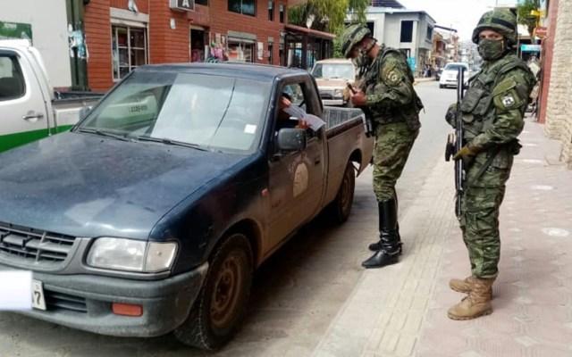HRW pide restringir uso de Fuerzas Armadas en seguridad pública - Ecuador militares soldados