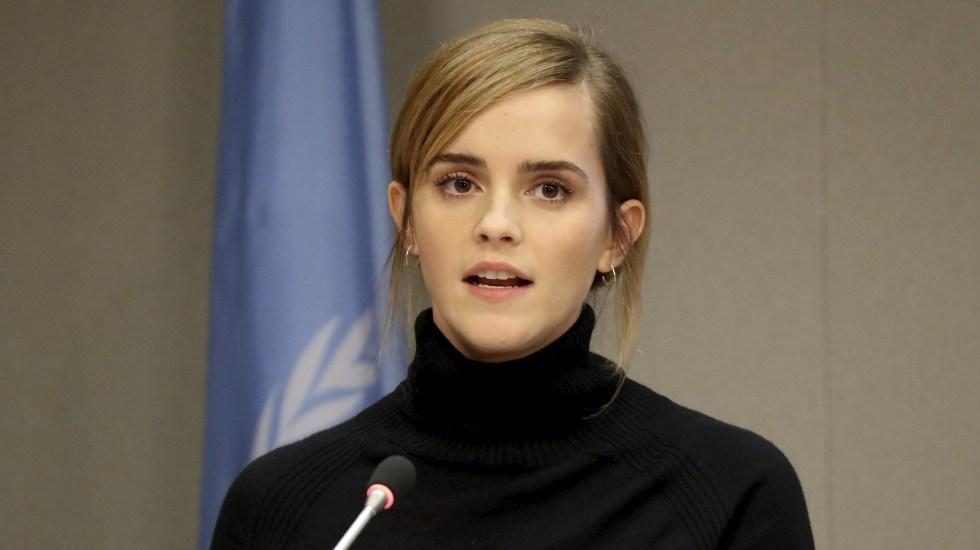 Emma Watson defiende a colectivo transgénero tras comentarios de JK Rowling - Emma Watson