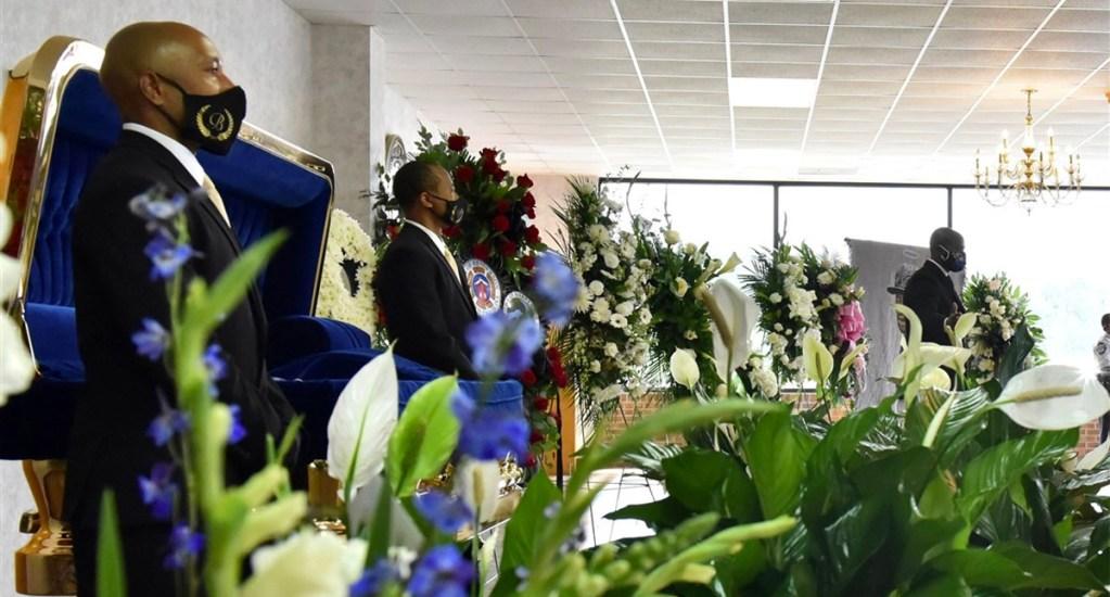 Segundo funeral de George Floyd se realizó en privado en Carolina del Norte - Funeral de George Floyd en Carolina del Norte