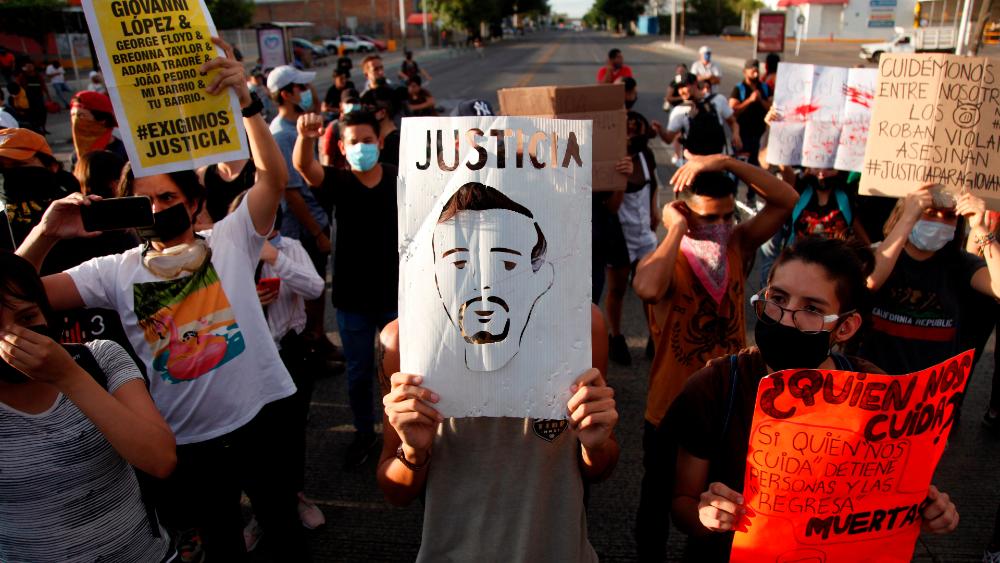 """Giovanni López fue víctima de una """"ejecución extrajudicial"""": CEDHJ - Manifestación para exigir"""