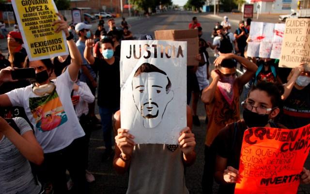 México se contagia de protestas contra abuso policial y crisis de coronavirus - Manifestación para exigir