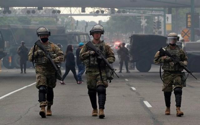 Detienen en Los Ángeles a hombre armado que fingía ser de la Guardia Nacional - Guardia Nacional de Estados Unidos