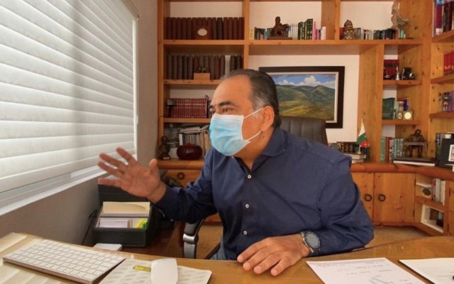 Héctor Astudillo, gobernador de Guerrero, se recupera tras padecer COVID-19 - Foto de Twitter Héctor Astudillo