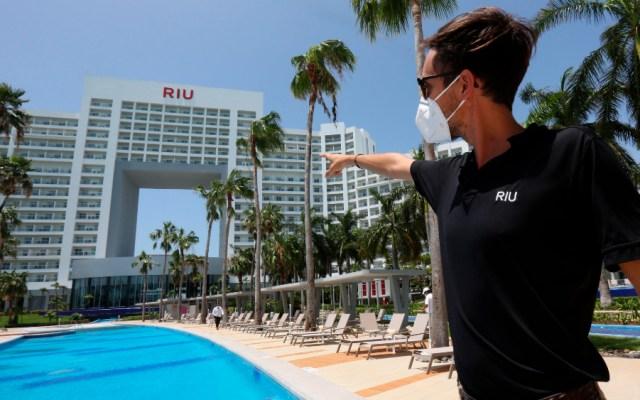 Hoteles de Cancún reanudan actividad con estrictos protocolos sanitarios - Foto de EFE