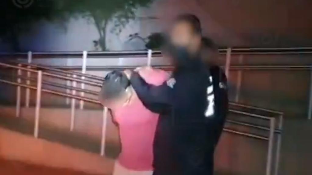 Detienen a hombre por secuestrar a su expareja en la GAM - Jorge N., detenido por el secuestro de su expareja en 2019. Captura de pantalla