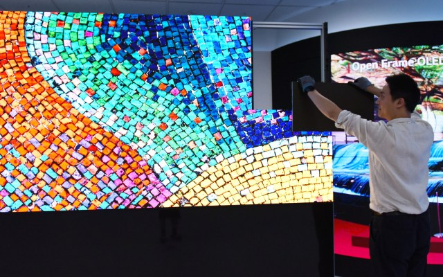 LG presenta su nueva solución LED Signage con la mejor calidad de imagen - LG LSAA señalización