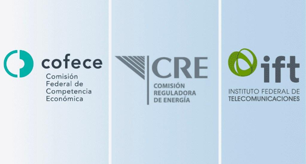 Iniciativa para desaparecer al IFT, COFECE y CRE trae más riesgos que beneficios: ICC México - Logo de la COFECE, IFT y CRE