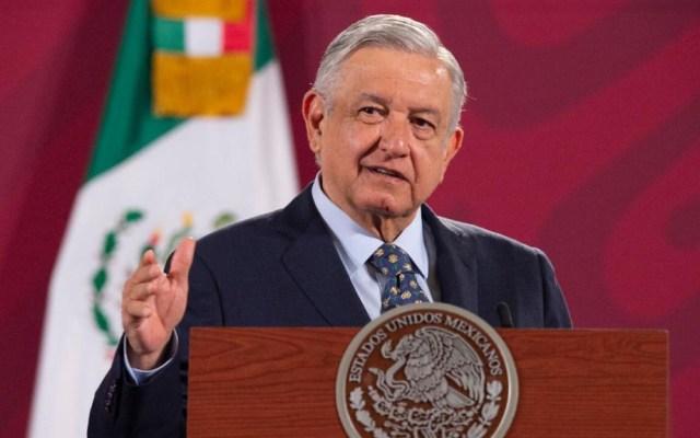 PAN exige a AMLO poner fin a distractores ante crisis por COVID-19 - López Obrador durante conferencia matutina el 11 de junio. Foto de Gobierno de México