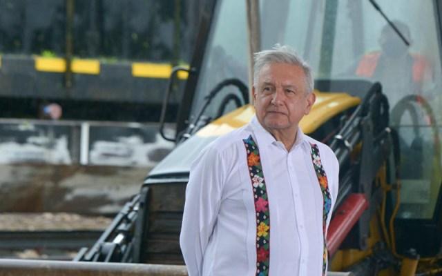 AMLO afirma que Tren Maya 'llega en un buen momento' para reactivar la economía - López Obrador en banderazo al tramo 3 del Tren Maya. Foto de lopezobrador.org.mx