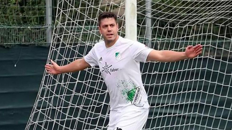 Hallan muerto al exdelantero Lucas Hector, hermano del seleccionado alemán Jonas Hector - Lucas Hector celebra un gol con el Auersmacher