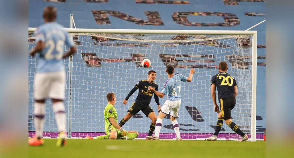 Jugador del Arsenal dio positivo a COVID-19 antes de jugar contra el City - Manchester City vs Arsenal FC