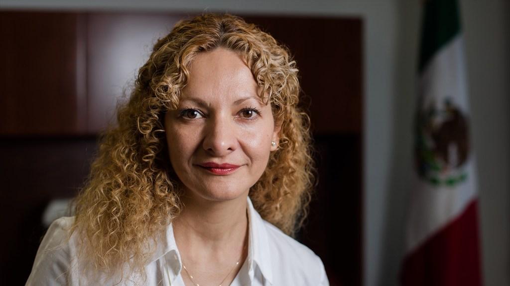 Vocación humanista de la CEAV se pervirtió: Mara Gómez en carta de renuncia - Mara Gómez Pérez, comisionada ejecutiva de Atención a Víctimas. Foto de SEGOB.