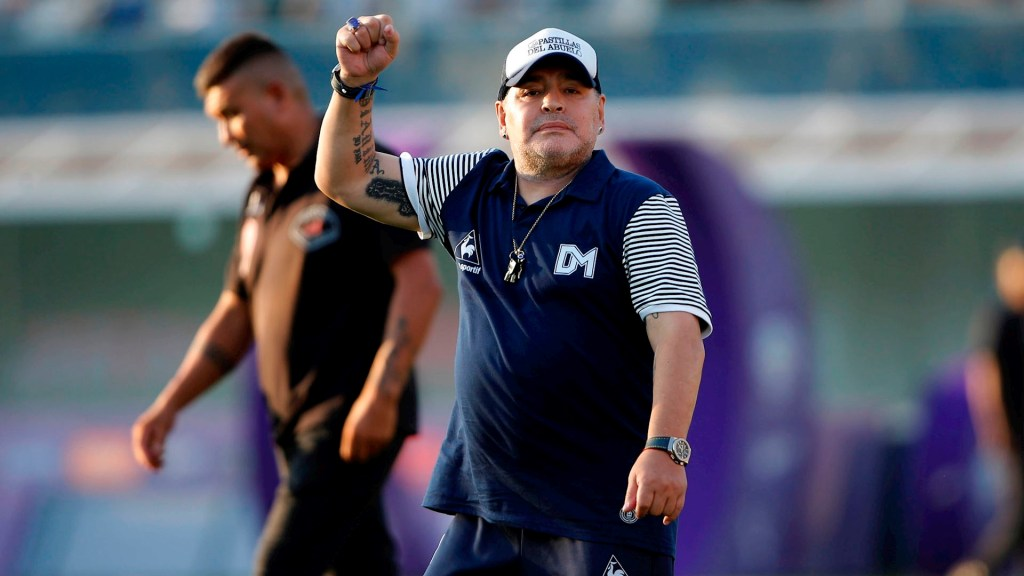 Informe revela que no había alcohol ni drogas ilegales en el cuerpo de Maradona - Maradona