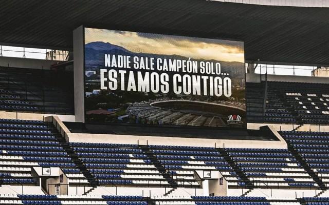 Liga MX podría reanudarse a puerta cerrada - Mensaje del Estadio Azteca por la pandemia de COVID-19. Foto de @estadioaztecaoficial